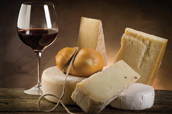 Parmezan i vino