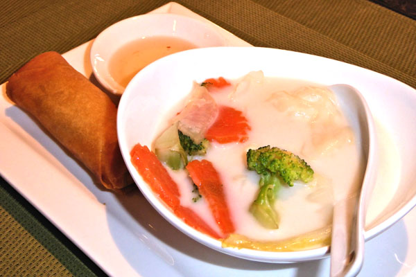 Supa sa kokosovim mlekom