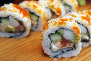 Sushi pirinač