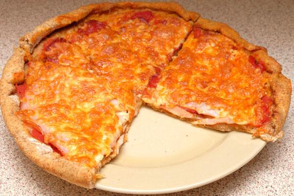 Pizza sa ražanim brašnom