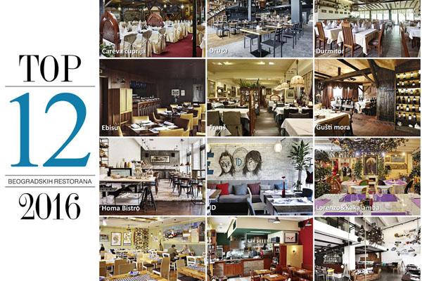 Top 12 beogradskih restorana