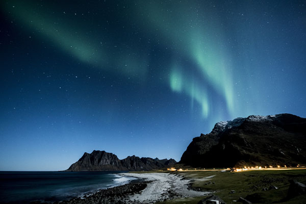 Norveška aurora borealis