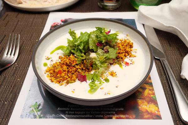 Credo Brunch salata