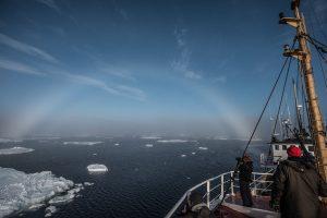 Severni pol - brod