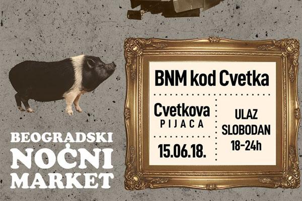 Beogradski nocni market kod Cvetka