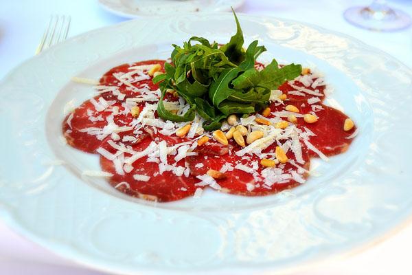 Karpaćo - listovi sirovog mesa