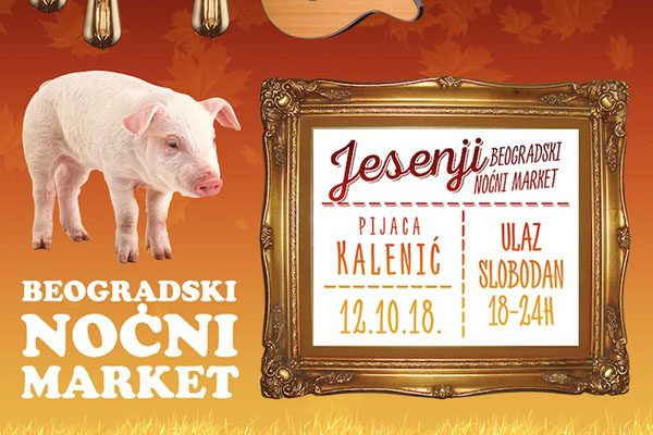 Beogradski nocni market, Kalenic