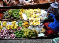 Tajland plutajuća pijaca