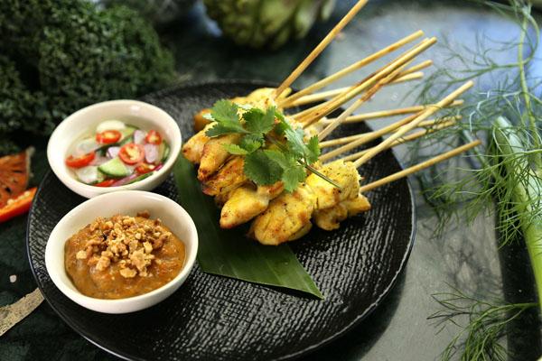 Satay roštilj