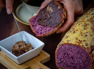 Hleb od ljubicastog batata