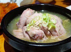 Samgye-tang letnja supa