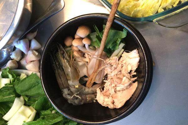 Sastojci za supu