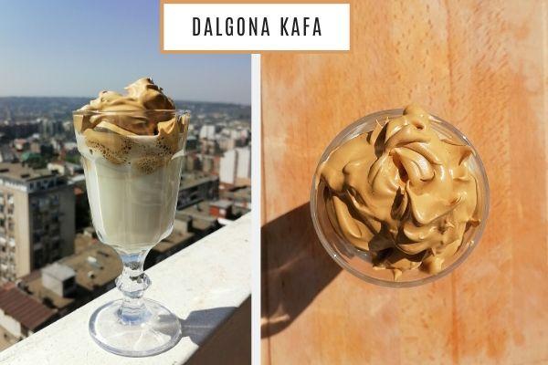 Dalgona kafa