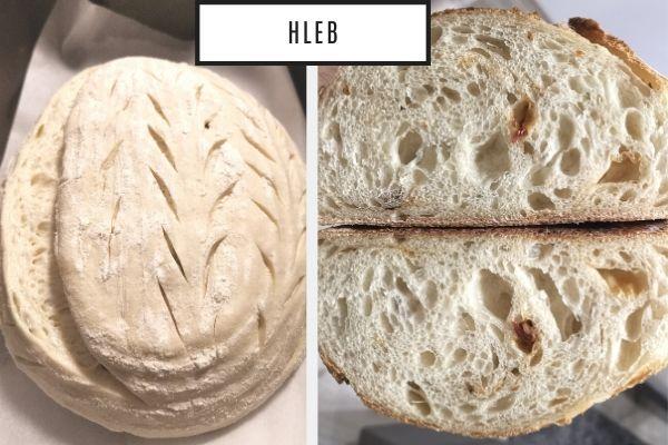Domaći hleb sa starterom - Milan Lekić