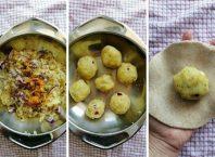 Indijska lepinja punjena krompirom