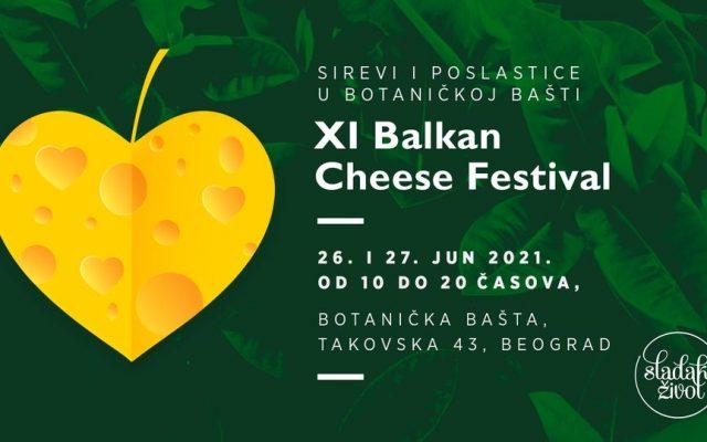 "Jedanaesta izložba autohtonih sireva Balkana, ""Balkan Cheese Festival"""